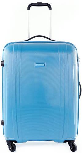 Качественный средний чемодан 70 л. Puccini PC 015, 8802/41 голубой
