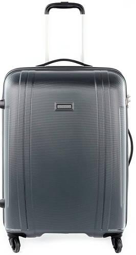 Средний чемодан из поликарбоната 70 л. Puccini PC 015, 8802/5 антрацит