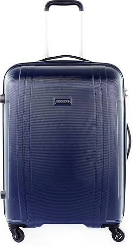 Пластиковый чемодан-гигант 115 л. Puccini PC 015, 8804/4 синий