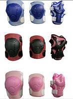 Комплект защиты детский: наколенники, налокотники, защита рук и кистей