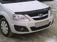 Дефлектор капота (мухобойка) Lada Largus (R90) с 2012