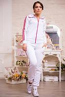 Женский костюм Adidas белый