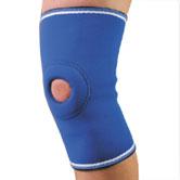 Бандаж фиксатор коленного сустава неопреновый 5, 6 размер Алком 4021 Бандаж колінного суглобу неопреновий