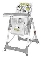 Детский стульчик для кормления PRIMO BLACK&WHITE PUPPIES