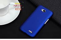 Чехол накладка бампер для LG L65 D285 синий