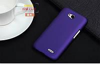 Чехол накладка бампер для LG L65 D285 фиолетовый