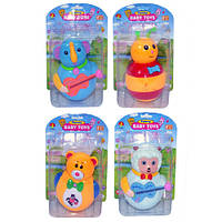 Неваляшка Baby Toys 6521-6399-6523-9379 . 4 вида