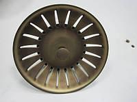 Сетка (античная латунь) с металлическим штырем