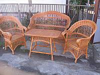 Комплекты плетеной мебели. Плетеная мебель из лозы