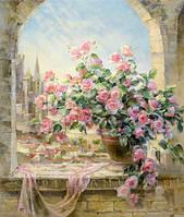 3D алмаз живопись полный квадрат дрель стены декор цветок красивый ароматические красочные