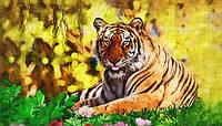 2015 мода 3D DIY алмаз живопись дикий тигр творческий подарок домашний декор стразами в на
