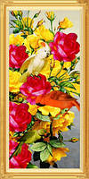 Мода 2015 сделай сам алмаз ручная вышивка главная декоративная живопись цветы и птицы выде
