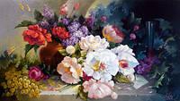 Diy рукоделие перекрестные наборы стежком вышивки русский знаменитое цветок живопись шабло