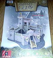 """D201 3D пазл  «Волшебная крепость"""", 37 дет."""
