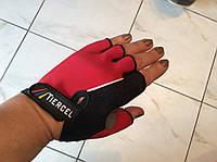Перчатки женские для фитнеса (вело)  размер S, М