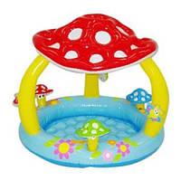 Детский надувной бассейн Грибок Intex 57407 (102 х 89 см)