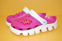 Пляжная обувь для девочек (вьетнамки, сандалии, кроксы)