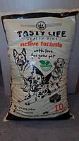 Корм Тести Лайф (Tasty Life) Говядина сухой корм для собак средних и крупных пород 10 кг