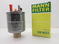Фильтр топливный на Рено Кенго II (с отвертием под нагреватель) 1.5 dCi 2009.06->MANN-FILTER (Германия) WK9022