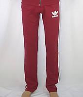 Спортивные штаны ADIDAS красные