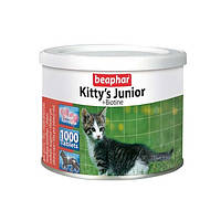Витаминизированное лакомство для кошек BEAPHAR Kitty's Junior с биотином витамины для котят 1000 шт