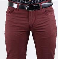 Брюки/джинсы летние бордовые Dawsin Турция