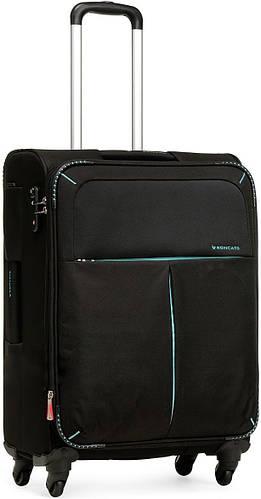 Чемодан текстильный четырехколесный 60/67 л. Roncato Cruiser 4022/01 черный