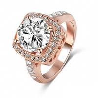 Кольцо с камнем. Позолоченное кольцо. Кольцо с горным хрусталем