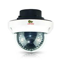 Partizan IPD-VF5MP-IR POE Купольная вариофокальная камера в антивандальном корпусе с ИК-подсветкой