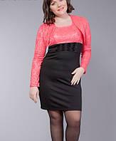 Женское деловое платье  Платье   7027-04