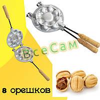 Форма для выпечки орешков Орешница — 8 цельных орехов