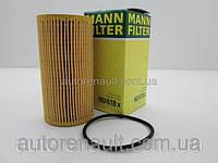 Фильтр маслянный Рено Мастер III 2.3dCi (113мм) 2010> MANN-FILTER (Германия) HU618X