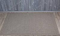 Безворсовый ковер-рогожка Balta Grace однотонный светло-серый
