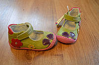 Туфельки летние на девочку, 20 размер, РАСПРОДАЖА