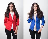 Яркий женский пиджак р.42-48