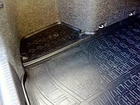 Резиновый ковер  в багажник для Hyundai Santa Fe (DM) (2012) (7 мест)