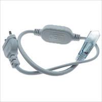 Сетевой коннектор для светодиодной ленты SMD5050 220 вольт 2pin