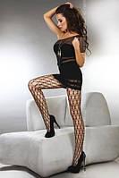Женские колготки Livia Corsetti с фигурной крупной сеткой