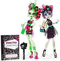 Рошель и Венера Танец Зомби (Monster High Zombie Shake Rochelle Goyle and Venus)