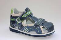 Ортопедические кожаные сандалии для мальчиков ТМClibee 20р.