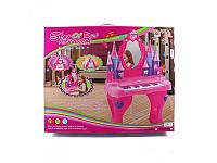 Детская музыкальная игрушка Трюмо-пианино  6889 A со  стульчиком