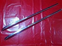 Хром накладка на сдвижные двери FIAT DOBLO 00-10 г.в.