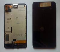 Nokia Lumia 630 дисплей LCD + тачскрін + рамка тестований