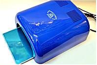 УФ Лампа для наращивания ногтей (синяя) GLOBAL 36 W