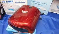 УФ Лампа для наращивания ногтей 012 (красная) 36 W