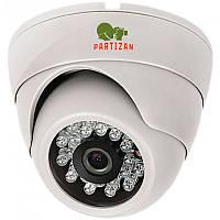 Partizan CDM-233H-IR HD v3.2 видеокамера купольная с фиксированным фокусом и ИК подсветкой