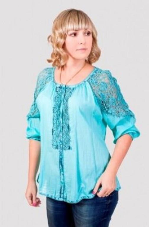Купить Женскую Блузку Большого Размера В Интернет