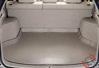 Резиновый ковер  в багажник для Infiniti JX (2012) ( разложенный 3 ряд)