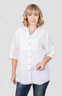 Качественная женская блуза больших размеров производитель Индия