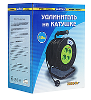 Удлинитель SVITTEX на катушке 40 м  с сечением провода 2х2,5 мм²
